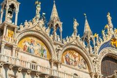 basilicadiitaly marco san venice Royaltyfri Bild