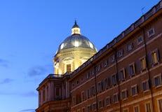Basilicadina Santa Maria Maggiore i Rome Arkivfoto