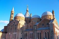 Basilicadisaint anthony da Padova, i Padua Royaltyfri Bild