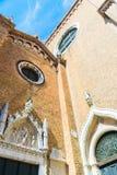 BasilicadiSanta Maria Gloriosa dei Frari Royaltyfri Fotografi
