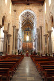 basilicadomkyrkacefalu sicily Arkivbild