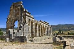 basilicaen fördärvar volubilis Royaltyfria Foton