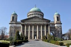 basilicaesztergom Royaltyfria Foton