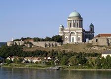basilicaesztergom royaltyfri fotografi