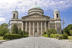 basilicaesztergom hungary Royaltyfria Bilder