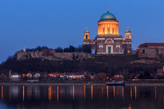 basilicaesztergom hungary Royaltyfria Foton