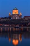 basilicaesztergom hungary Royaltyfri Foto