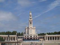 basilicafatima lady vår portugal Royaltyfria Bilder