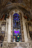 basilicaflorence maria novella santa Arkivbilder
