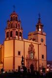 basilicaguanajuato mexico Arkivbilder