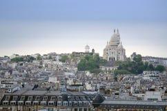 basilicahjärta sakrala paris Royaltyfri Bild