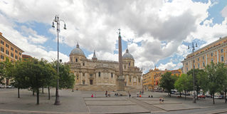 basilicamaggiore maria santa Royaltyfri Bild