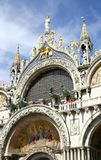 basilicamarco san venice Royaltyfri Fotografi