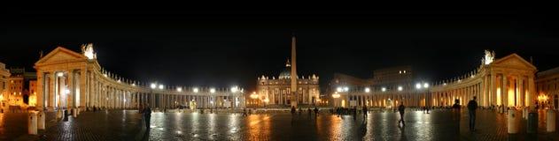 basilicapeter pietro s san vaticano Royaltyfri Bild