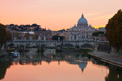 basilicapeter rome s st Royaltyfri Bild