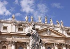 basilicapetersst Arkivbilder