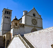 Basilicas of San Francesco d'Assisi Stock Image