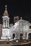 BasilicaSt Bartholomew op het Eiland, Tiber-Eiland, Rome Royalty-vrije Stock Afbeeldingen