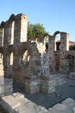 BasilicaSt. Sophia. Nessebar Bulgarien Arkivbilder