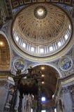 basilicastadspeter s st vatican Arkivbild