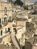 basilicata意大利matera视图 免版税库存照片