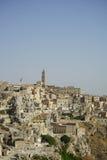 basilicata意大利matera视图 免版税库存图片