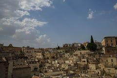 basilicata意大利matera视图 库存照片
