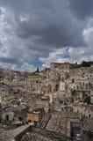 basilicata Италия matera Старый город Sassi, традиционная архитектура Стоковая Фотография