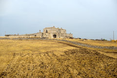 Basilicata (Matera) - Old farm at summer Stock Photos