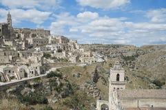 basilicata matera sassi 库存照片