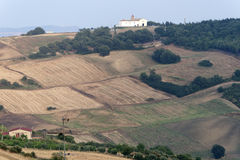Basilicata - paisaje cerca de Oppido Lucano Imagenes de archivo