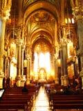 Basilicathe di Notre-Dame de fourviere e fiume Saone, Lione, Francia Fotografie Stock Libere da Diritti