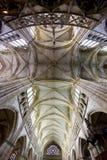 Basiliek in Epine, Frankrijk Stock Afbeeldingen