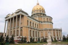 Basiliek in Korstmos, Polen Royalty-vrije Stock Foto's