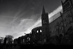 Basiliek Notre dame du Rosaire, Frankrijk Stock Foto's