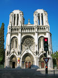 Basiliek Notre-Dame, Nice, Frankrijk royalty-vrije stock afbeelding