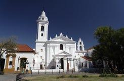 Basiliek Nuestra Senhora del Pilar - Buenos aires Stock Foto's