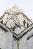 Basiliek Sacré Coeur in Montmartre, Parijs, Frankrijk Stock Foto