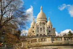 Basiliek Sacre Coeur Stock Foto