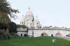 Basiliek sacre-Coeur parijs stock foto