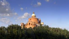 Basiliek San Luca, Bologna, Italië stock videobeelden