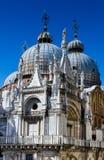 Basiliek San Marco Dome in Venetië, Italië royalty-vrije stock afbeeldingen