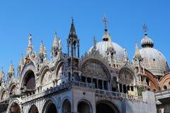 Basiliek San Marco, Venetië stock afbeeldingen