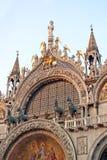 Basiliek San Marco in Venetië royalty-vrije stock afbeelding