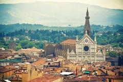 Basiliek Santa Croce, Florence royalty-vrije stock fotografie