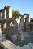 Basiliek St. Sophia. Nessebar, Bulgarije Stock Afbeeldingen