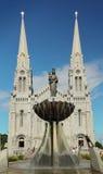 Basiliek ste-Anne-DE-Beaupre Stock Afbeelding