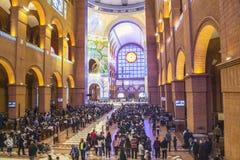 Basiliek van Aparecida - Nationaal Heiligdom Royalty-vrije Stock Foto