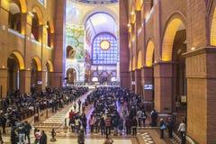 Basiliek van Aparecida - Nationaal Heiligdom Stock Afbeelding