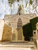 Basiliek van de Aankondiging, Kerk van de Aankondiging, Nazareth Royalty-vrije Stock Afbeelding